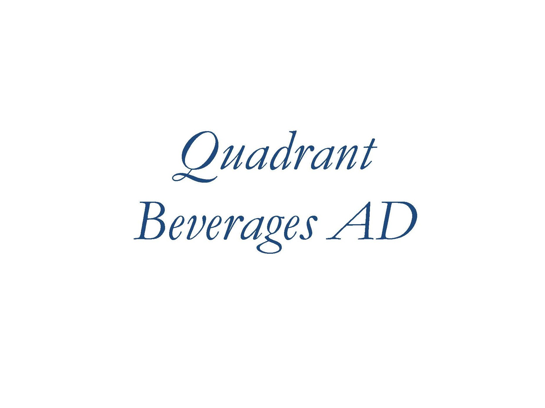 Quadrant Beverages