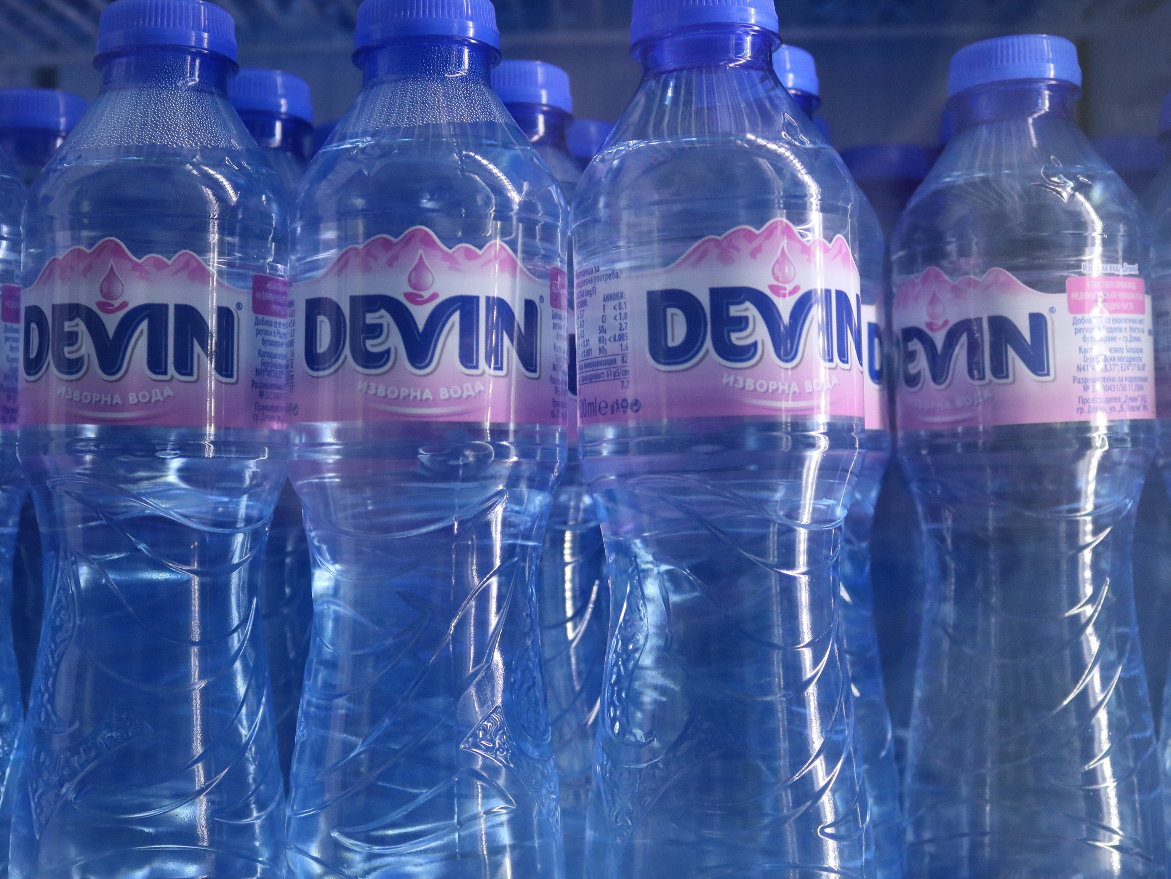 Devin JSC donates over 100,000 bottles of water to the Bulgarian Red Cross